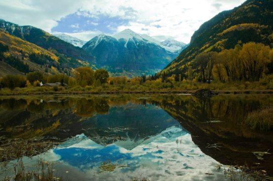 Sø og bjerg - telluride