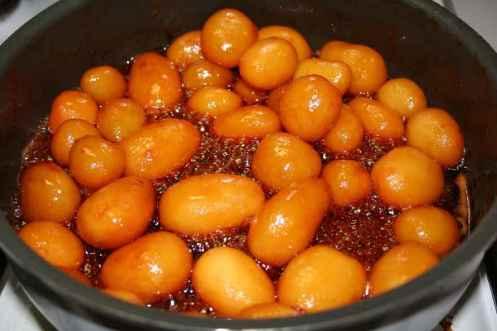 Brune kartofler